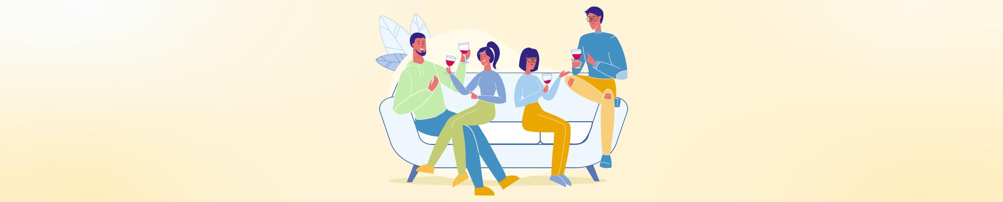 Quantas Pessoas uma Garrafa de Vinho Serve?